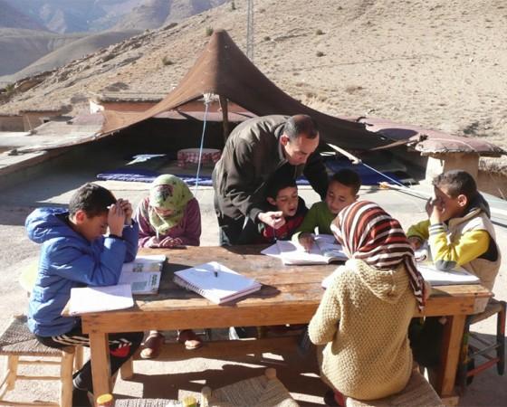 Ecole Vivante – Ait Bouguemez, Marokko